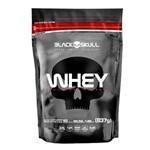 Whey 100% Whey Protein Refil - Baunilha 837g - Black Skull