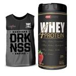 Whey 4 Protein 900g Pro Corps + Camiseta Regata Darkness
