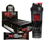 Whey Bar Darkness + Coqueteleira