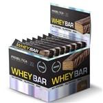 Whey Bar Low Carb Coco - Caixa com 24 Un