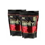 Whey Gold Standard - 454g (Baunilha) - Optimum Nutrition! 2 Unidades