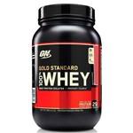 Whey Gold Standard Sabor Morango 900g - Optimum Nutrition