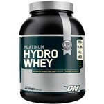 Whey Hydro Platinun - Suplemento Alimentar 1590g Morango - Optimum Nutrition