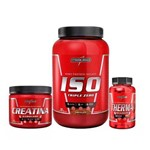 Whey Iso Triple Zero 907g + Therma - 60caps+ Creatina - 300g