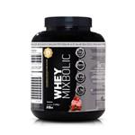 Whey Mix Bolic 5lbs (2268g) - 32g de Proteína Morango - Sports Nutrition