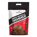 Whey Muscle Hammer - 1800g - Body Action - Sabor Chocolate