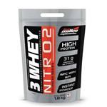 3 Whey Nitro No2 New Millen 1,8k - Baunilha
