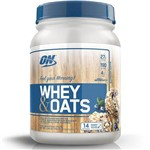 Whey Oats (700g) - Optimum - Vanilla Almond