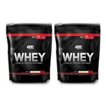 Whey Optimum Nutrition 2 Unidades - (1,82LB Cada)