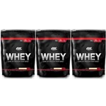 Whey Optimum Nutrition 3 Unidades - 5,55lb