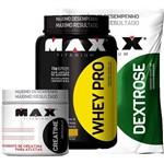 Whey Pro 1kg + Creatina 150g + Dextrose 1kg