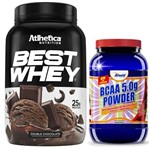 Whey Protein BEST WHEY 900g Atlhetica + BCAA 5G 800g Fruit Punch Arnold Nutrition