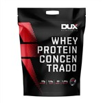 Whey Protein Concentrado - 1800g - Dux Nutrition Labs - Sabor Morango