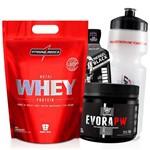 Whey Protein Concentrado 907g + Pre Treino 150g Wey