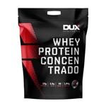 Whey Protein Concentrado Morango Pouch 1,8KG Dux Nutrition