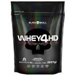 Whey Protein Refil Whey 4HD - Black Skull - 837grs
