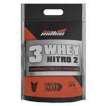 Whey Protein 3w Nitro 2 Iron Man 1.8kg Sabores New Millen