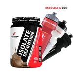 Whey/wey Protein Isolado 450g + Squeeze Body Action