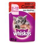 Whiskas Sachê Filhote Carne - 85g