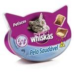 Whiskas Temptations Pelo Saudavel 40g