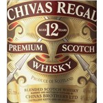 Whisky Chivas Regal 12 Anos 4,5 Litros