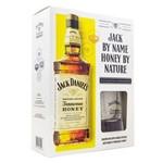 Whisky Jack Daniels Honey 1000ml com 01 Copo de Vidro