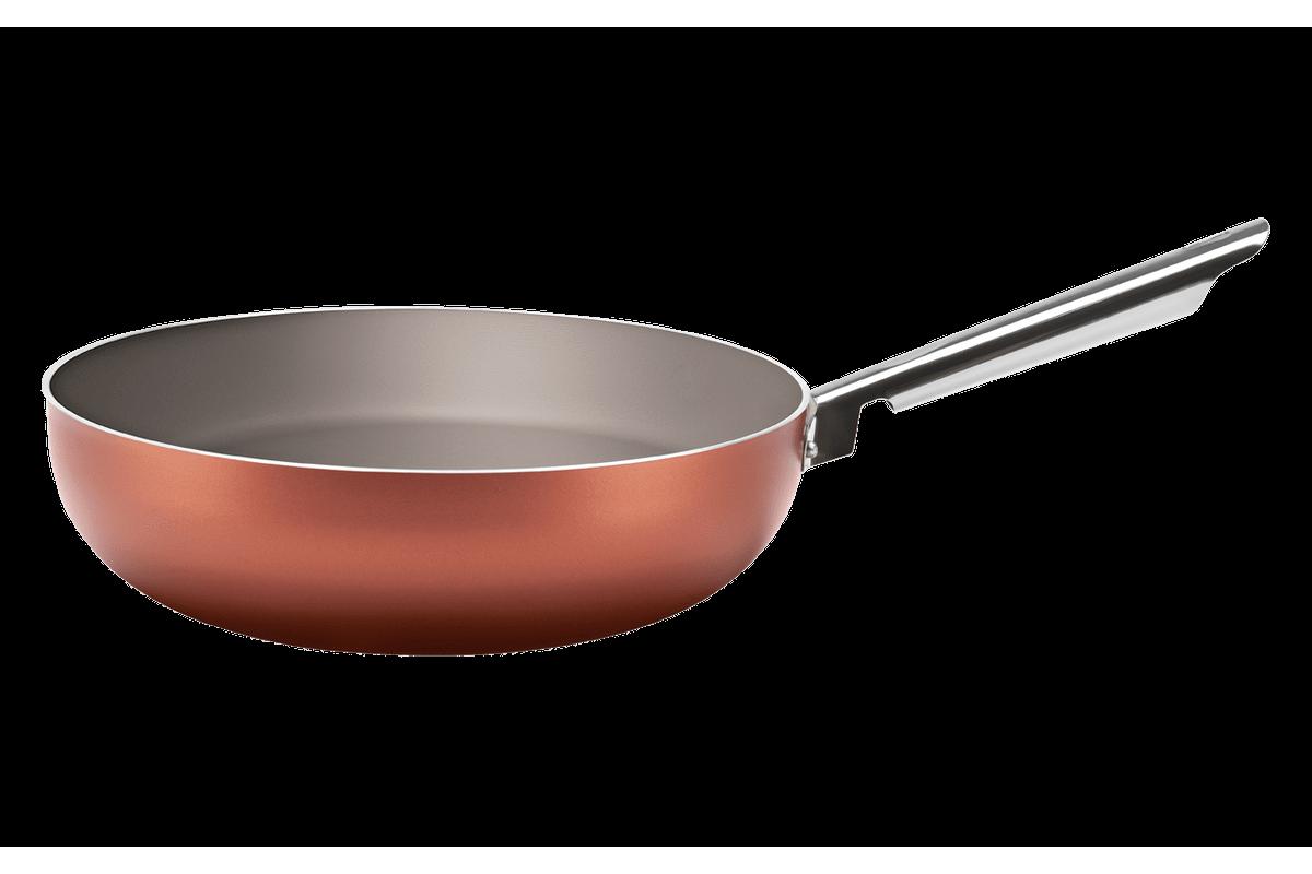 Wok - Curry 28x8 Cm Cobre