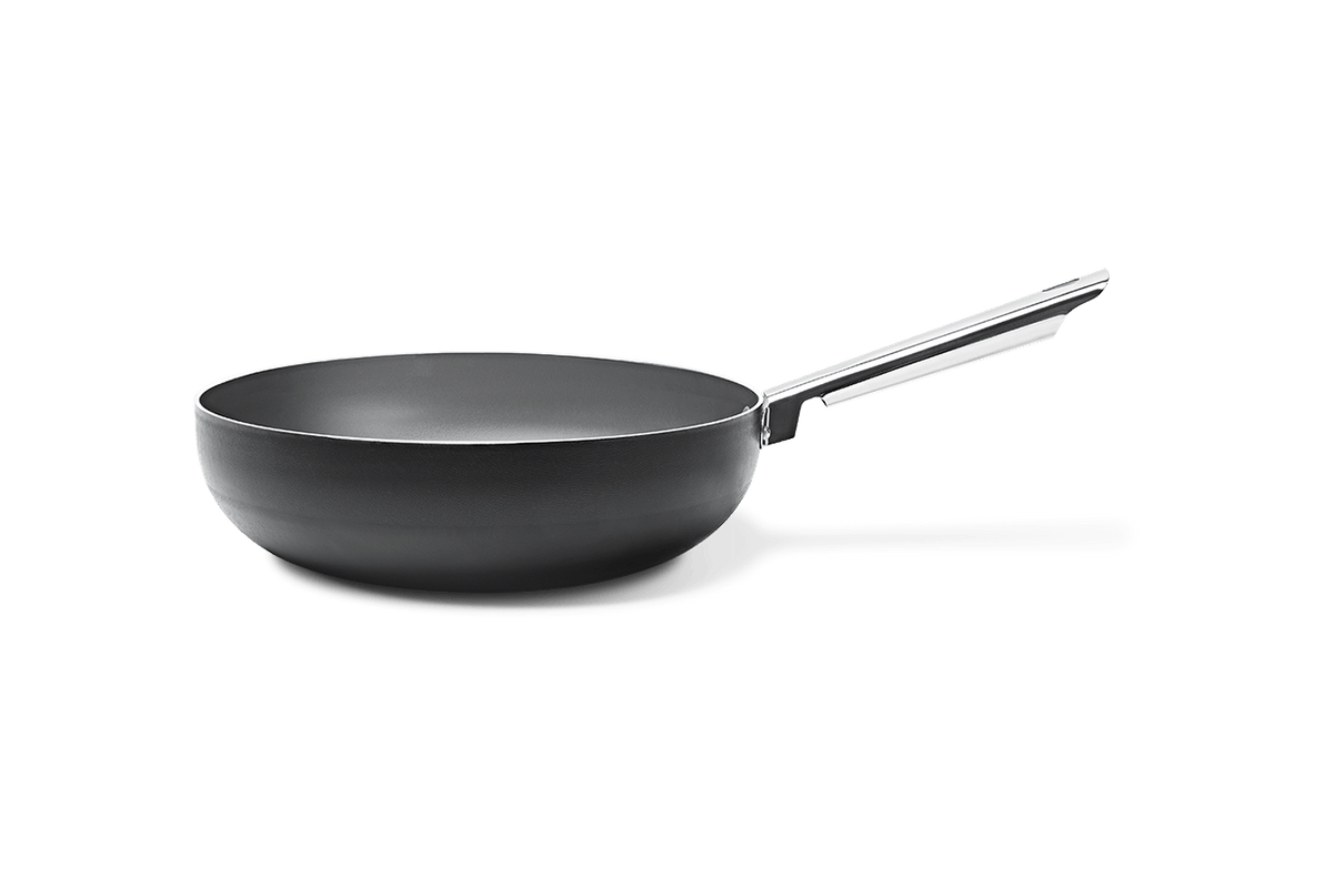 Wok Curry Ø28 Cm 28 Cm Preto Brinox