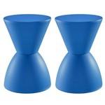 2 X Banquetas Tub - Prince - Azul