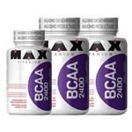 2x Bcaa 100 Caps + 1x Bcaa 60 Cápsulas Max Titanium