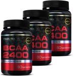 3x Bcaa 2400 - Probiótica - 60 Tabs - Aminoacido