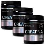 3x Creatina Pura 100g - Probiótica - Melhor Preço