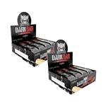 2x Darkness Whey Bar -Salted Caramel (caixa 8 Unidade) Integralmédica