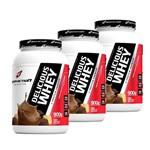3x Delicious Whey Protein 900g - Body Action Preço Revenda Wey/way