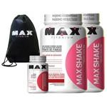 2x Max Shake + Picolinato de Chromo + Mochila Max Titanium