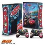 Xbox 360 Slim Skin - Carros Adesivo Brilhoso