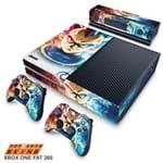 Xbox One Skin - Dragon Ball Super Vegeta SSJ GOD Adesivo Brilhoso