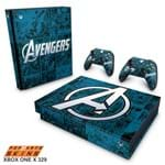 Xbox One X Skin - Avengers Vingadores Comics Adesivo Brilhoso