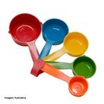 Xícara Medidora Weck Color 5 Peças - 32504