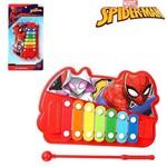 Xilofone Musical Infantil Homem Aranha Spider Man na Cartela