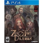 Zero Escape Zero Time Dilemma - Ps4