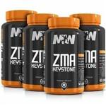Zma Keystone (90 Caps) Mw Suplementos - 4 Unidades