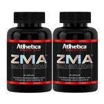 ZMA (Zinco, Magnésio e Vitamina B6) – 2 Un de 90 Cápsulas - Atlhetica