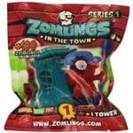 Zomlings Torre Zombie Surpresa com 1