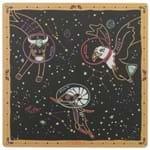 Zoodiac Ar Mouse Pad Preto/cores Caleidocolor